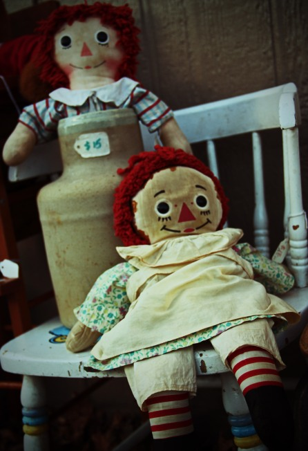 Raggedy Ann New and Old