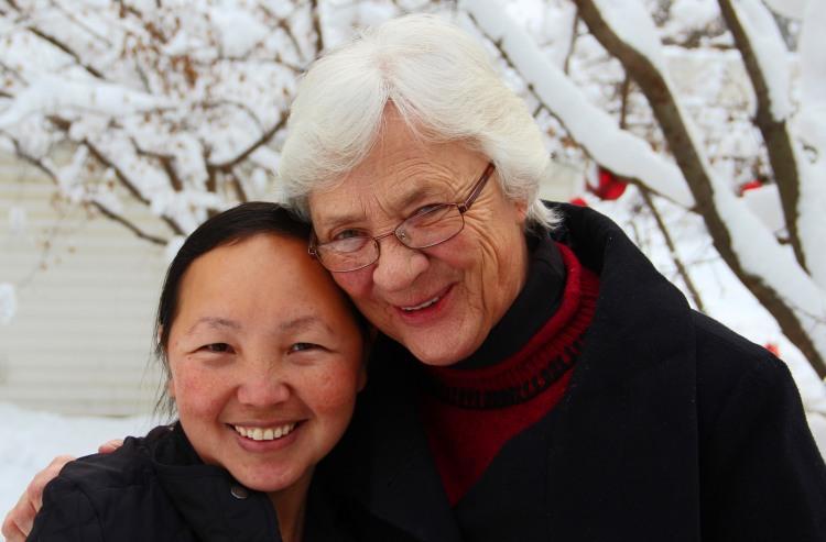 Kathleen and Toua
