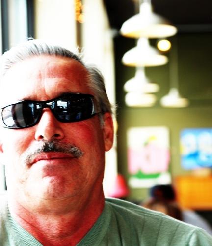 guy in cafe
