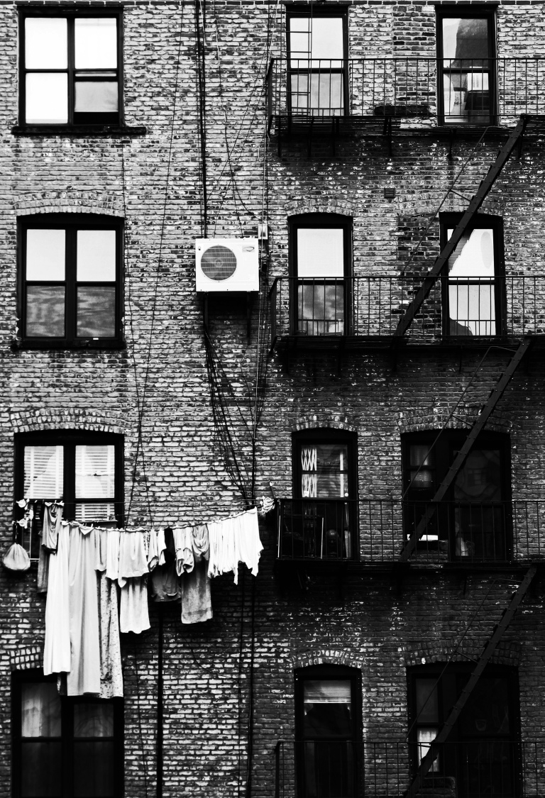 wash day in SohoBW