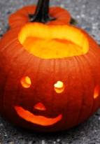 neighbor's pumpkin