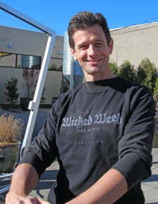 Chris Neville at Wicked Weed