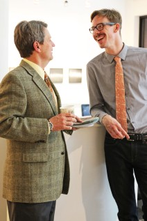 Joe Kraft- AU Alum (right)