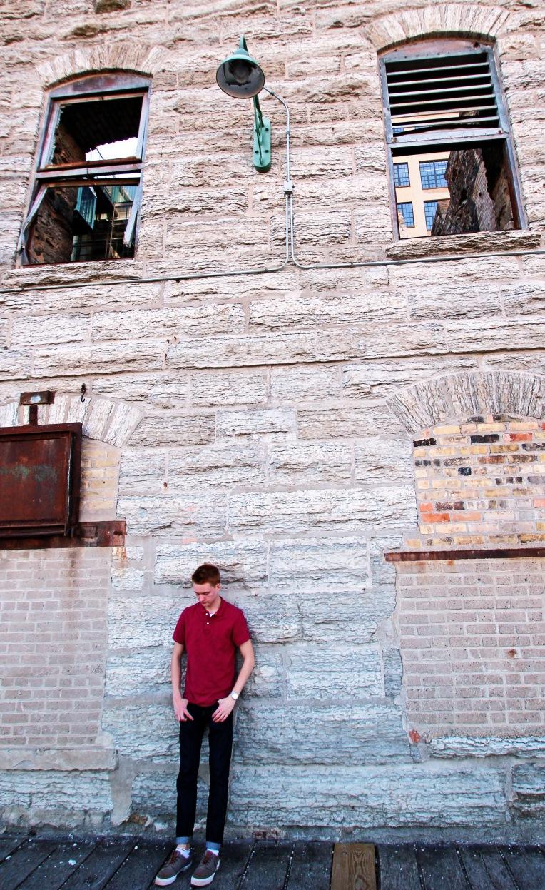 Kenny at the Ruins