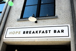 hope breakfast bar