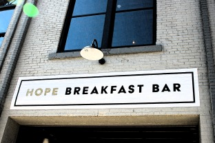 hope breakfast bar